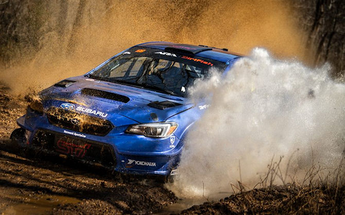 Subaru Rally Team at the North American International Auto ... |Team America Driving